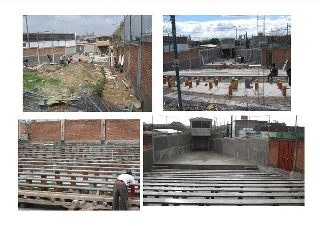 Construccion teatro al aire Libre
