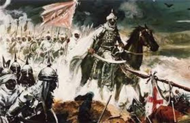 Invasión de los musulamanes