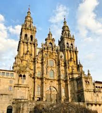 Construcción de la catedral compostelana