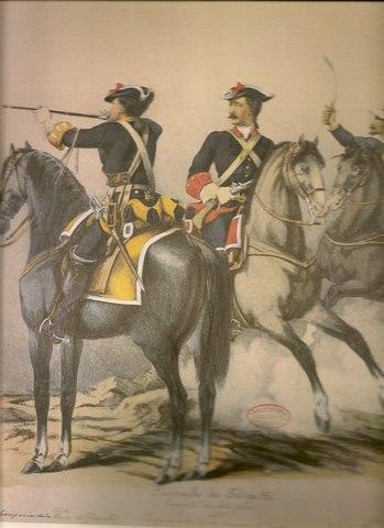 Carlos VII creó las Compañías Reales de Ordenanza.