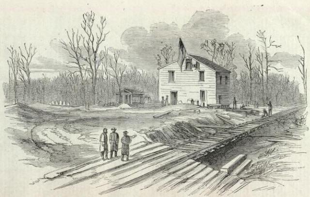 Camp near Davis mill, Mississippi