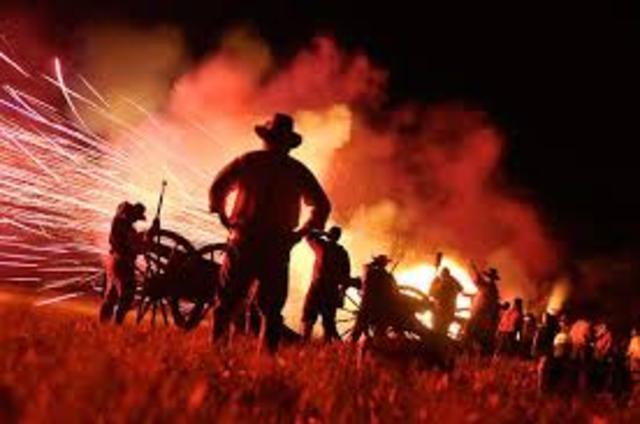 The last night of war