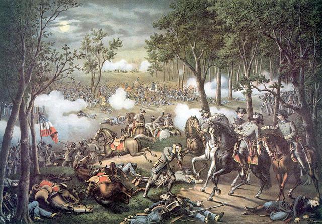 the battle of chancelorville