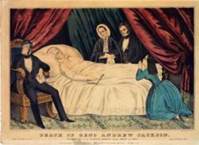 Andrew Jackson's Death