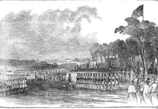 Camp Stephenson, Frederick County, Va