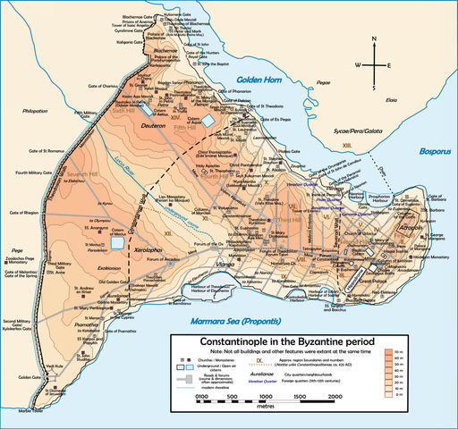 Inauguración de Constantinopla