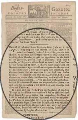 The Boston Non-Importation Agreement