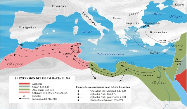 El Islam contra Constantinopla