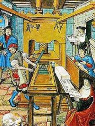 Creación de la Imprenta 1440