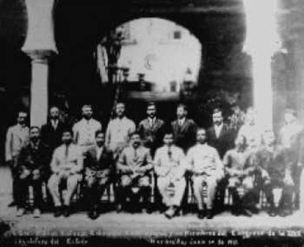 1er. Congreso Constituyente del Estado de Occidente