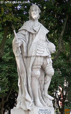Fernando I, rey de Castilla y León.