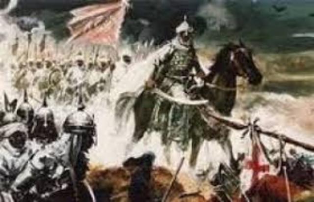 ESPAÑA, MUSULMANA: Invasión Sarracena de la Península Ibérica