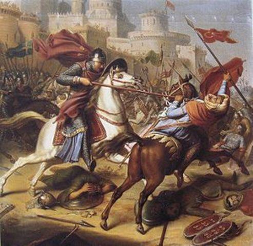 Primera cruzada . Conquista de Jerusalén