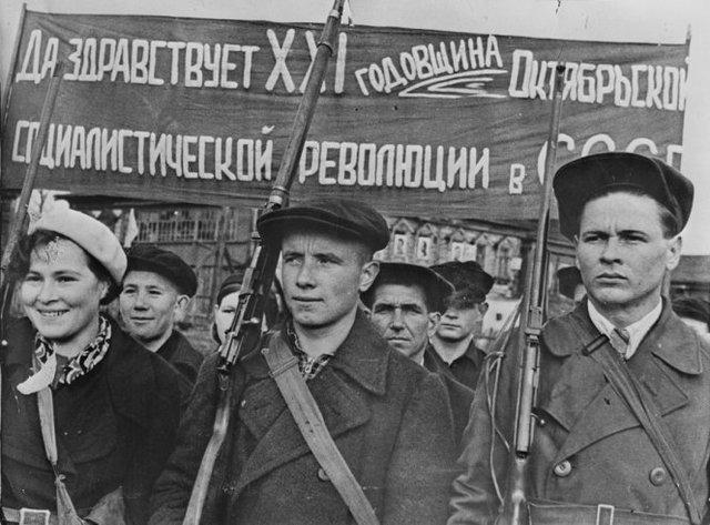 Revolución Rusa, Revolción de Octubre.