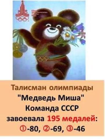 Талисман XXII Летней олимпиады