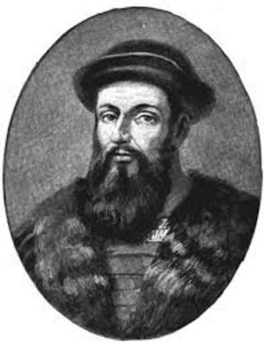Magellan's Expedtion circumnavigate the Earth