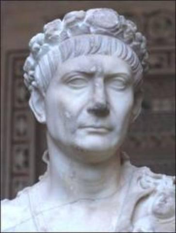 Máximo apogeo del Imperio Romano