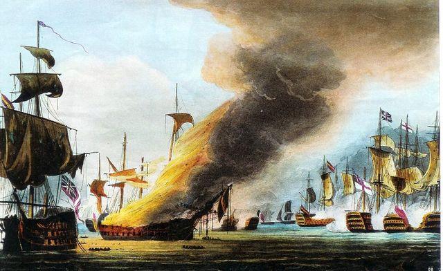 Batalla de Trafalgar 1805