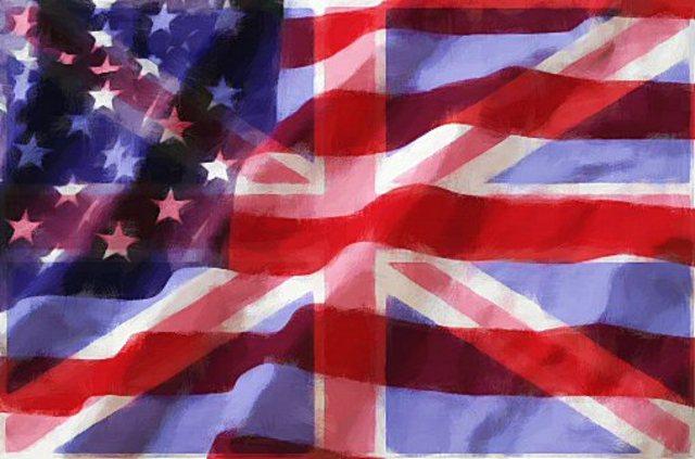 Britian and U.S.