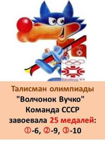Талисман XIV Зимней олимпиады