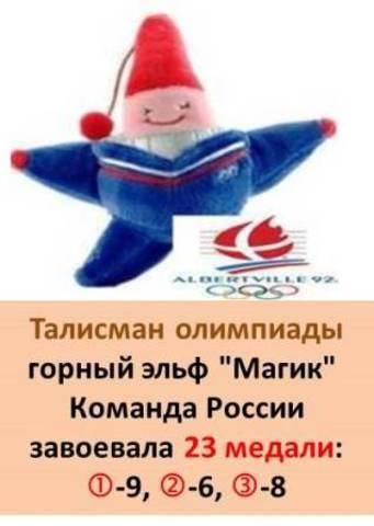 Талисман XVI Зимней олимпиады