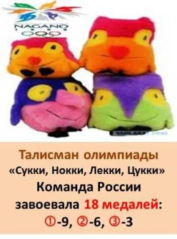 Талисман XVIII  Зимней олимпиады