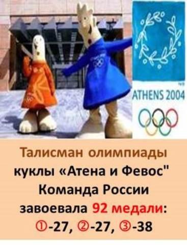 Талисман XXVIII Летней олимпиады