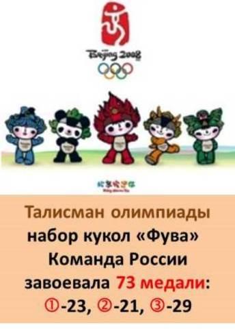 Талисман XXIX  Летней олимпиады