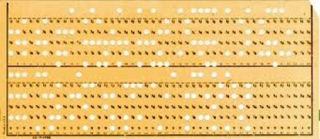 Códigos de cartões perfurados de Hollerith