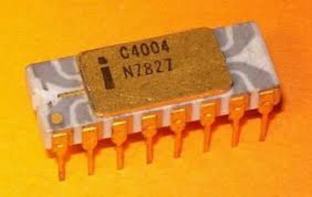 Primeiro microprocessador (INTEL)