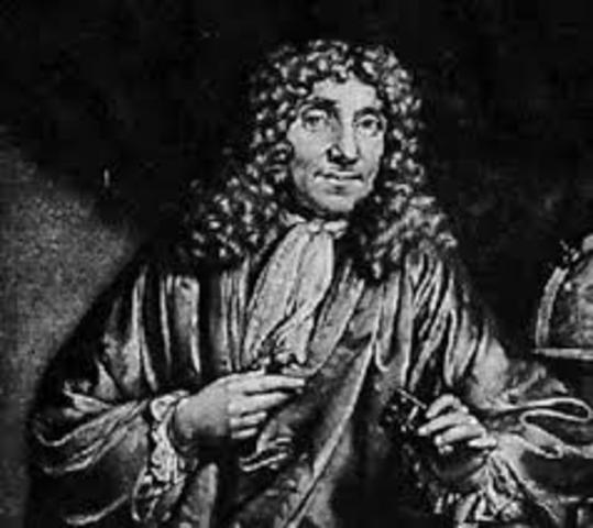 Anton Van Leeuwenhoek gets more percise.