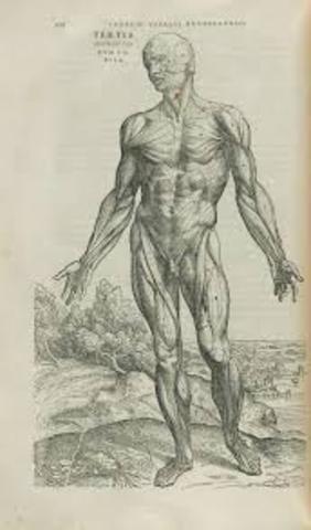 Andreas Vesalius publishes DE FABRICA