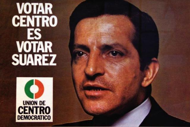 Adolfo Suarez es escogido presidente en las 1º elecciones democraticas
