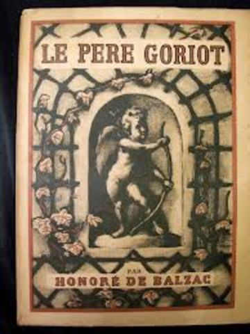 Début de l'écriture de Le Père Goriot