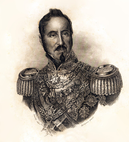 Relevo de Gobierno. General Espartero