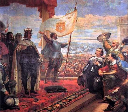 Revolta militar em Lisboa.