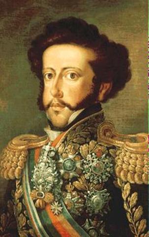 7 de Setembro - Proclamação da Independência do Brasil por D. Pedro IV.