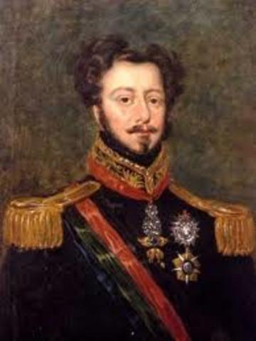 D. Pedro IV nomeia os Pares do Reino.