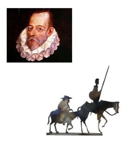 "ESPAÑA, LITERATURA: ""Don Quijote de la Mancha"""