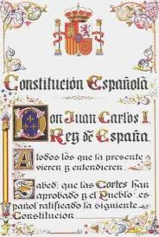 ESPAÑA: Constitución Española de 1978