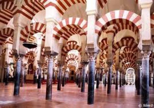 ESPAÑA ARTE (almohade): Mezquita de Córdoba