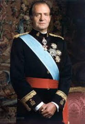 ESPAÑA: D. Juan Carlos I de Borbón y Borbón