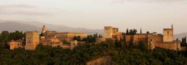 ESPAÑA, ARTE (almohade): Alhambra de Granada
