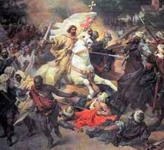 ESPAÑA, RECONQUISTA: Batalla de Clavijo