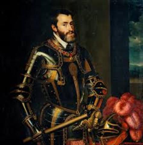 ESPAÑA: Carlos I de España y V de Alemania