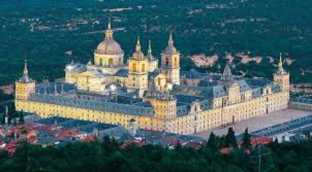 ESPAÑA, ARTE: Real Monasterio de San Lorenzo del Escorial