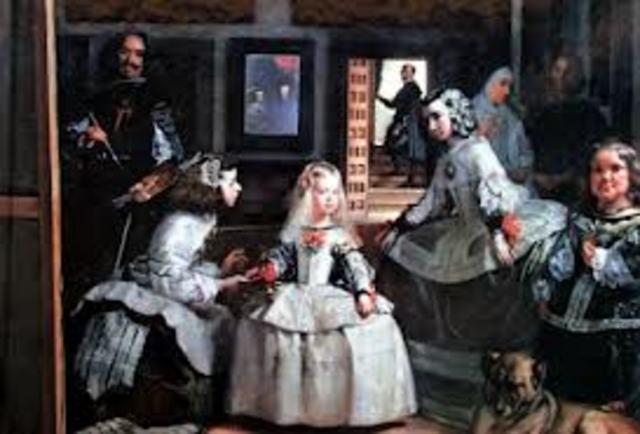 ESPAÑA, ARTE (barroco): Las Meninas de Velázquez
