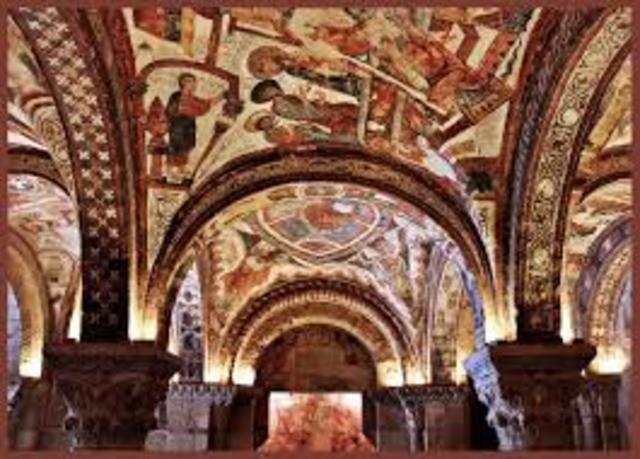 ESPAÑA, ARTE (románico): Basílica de San Isidoro, León