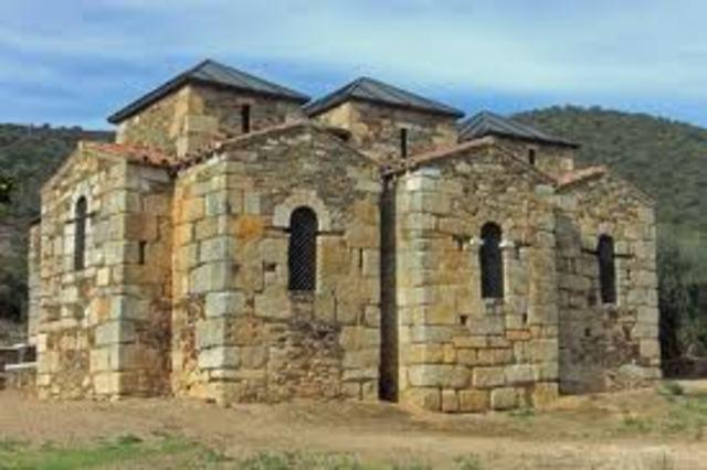 ESPAÑA, ARTE (visigótico): Santa Lucía del Trampal