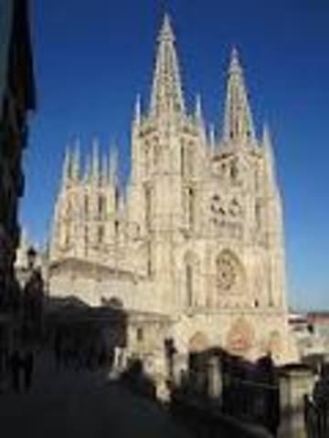 ESPAÑA, ARTE (gótico): Catedral de Burgos